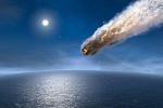В Латвии упал метеорит?