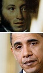 Их Обама и наш Пушкин земляки